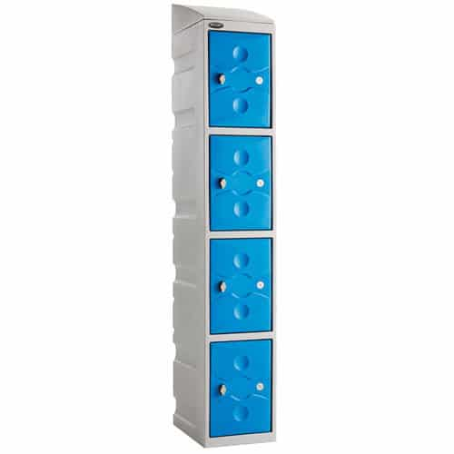 Ultrabox-Sloping-Top-Plastic-Locker-Unit-Blue