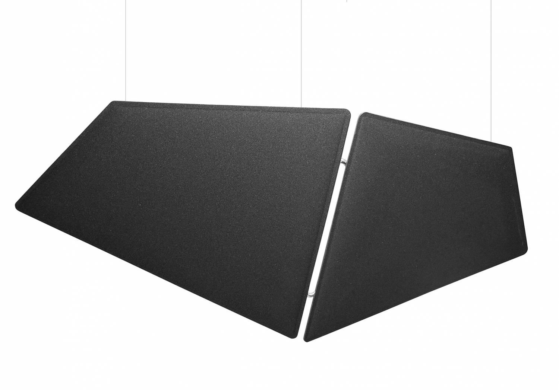 V-Flap-Black-Ceiling-Suspended-Acoustic-Panels