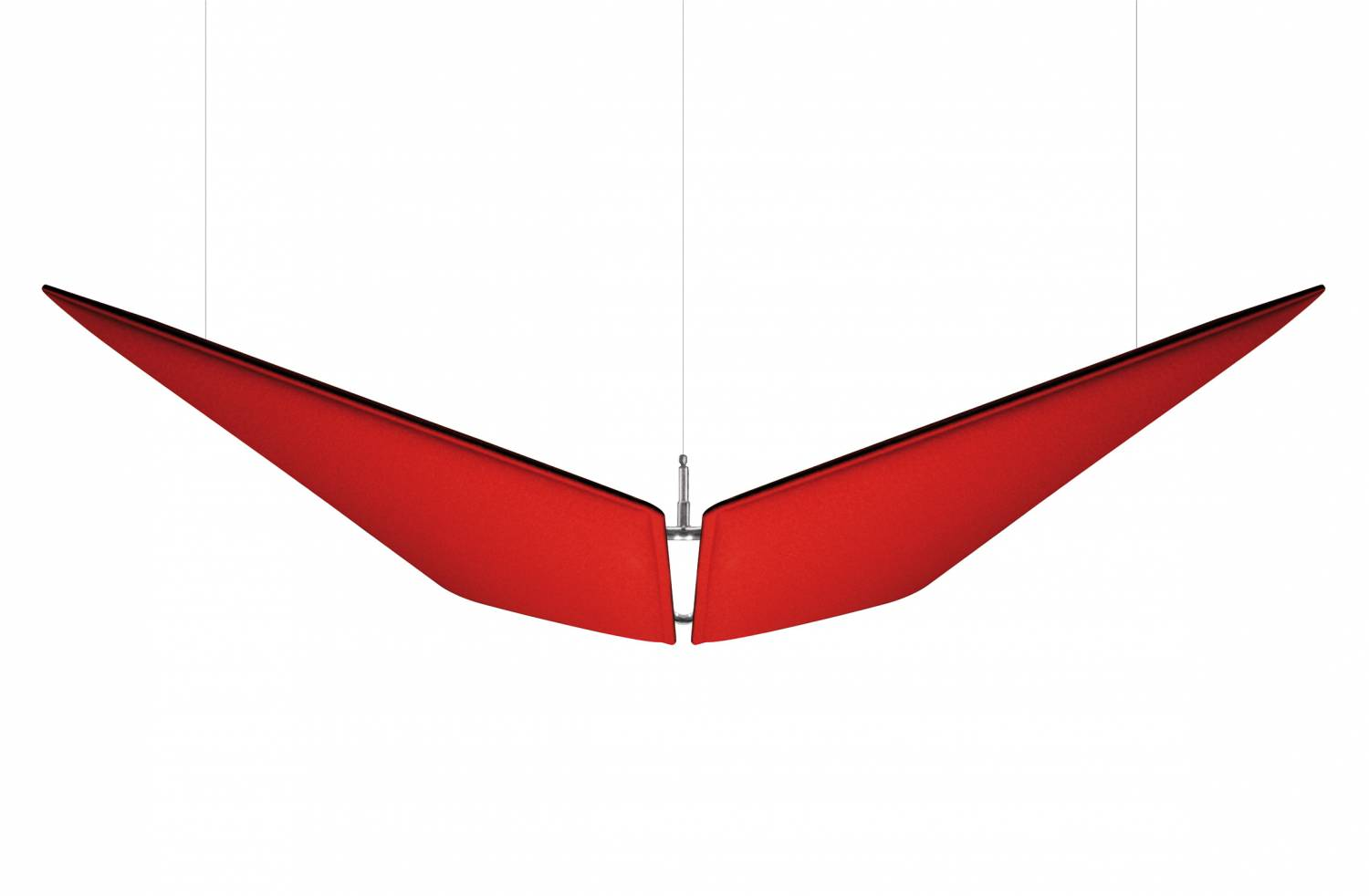 V-Flap-Red-Acoustic-Panels-Ceiling-Suspended