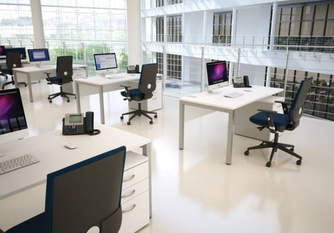 Bench-Sqaured-Deskits-White-In-Office-Environment