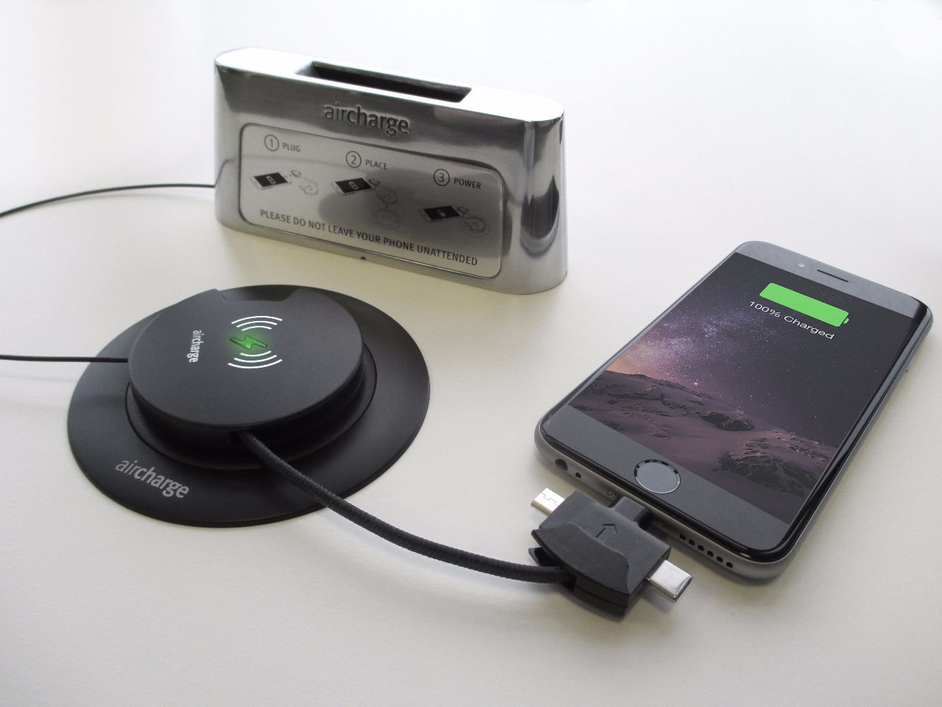 Wireless Charging ORB Adaptor for iPhone