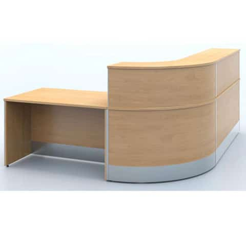 X-Range-Beech-MFC-DDA-Compliant-Reception-Counter