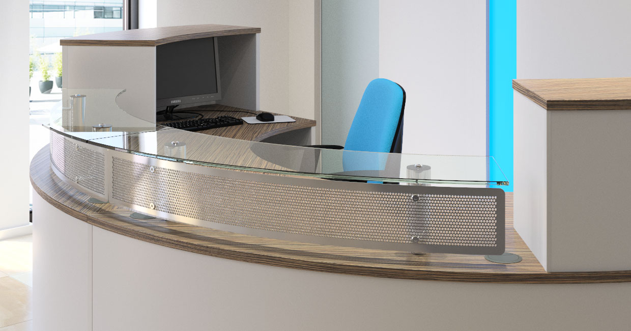 Modern Reception Desk Sven Christiansen