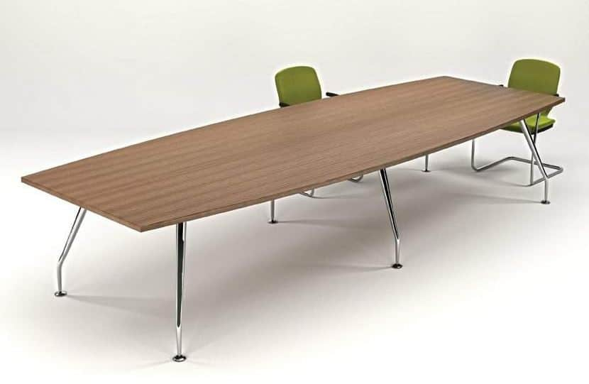 Zenith-Meeting-Table-Chrome-Base