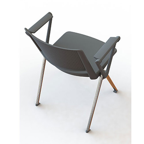 Zela-Conference-Chair-With-Arms-Grey