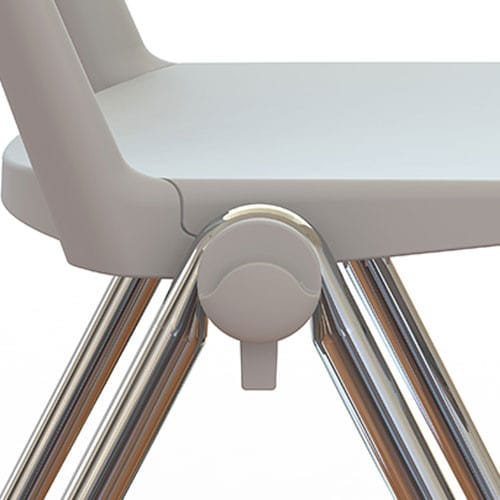 Zela-Stacking-Conference-Room-Chair-Grey