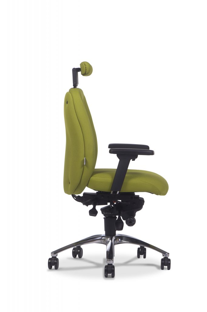 Adapt600 Ergochair with Neck Roll