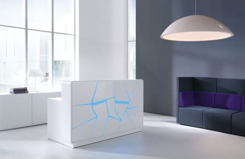 Arctic-Summer-White-Laquered-Modern-Reception-Desk-Blue-Backlight