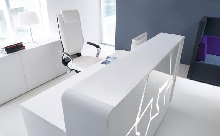 Arctic-Summer-White-Laquered-Modern-Reception-Desk-with-White-Backlight