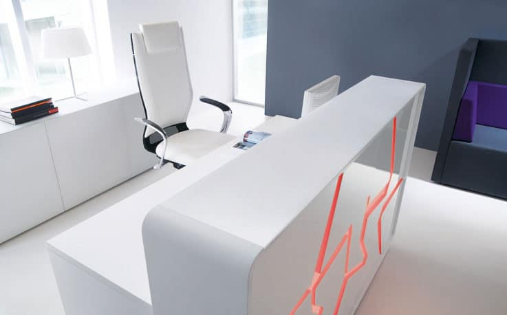 Arctic-Summer-White-Laquered-Modern-Reception-Desk-Red-Backlight