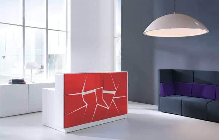 Arctic-Summer-Modern-Reception-Desk-with-Red-Laquered-Front