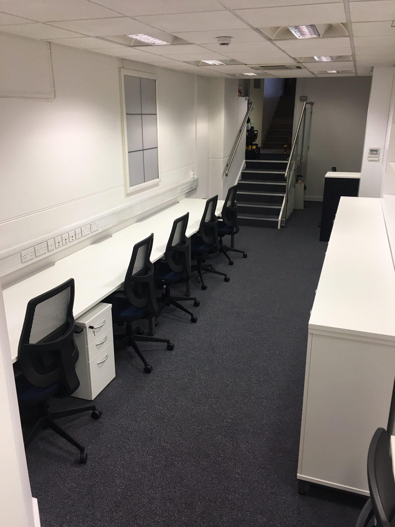 Basement Office Conversion