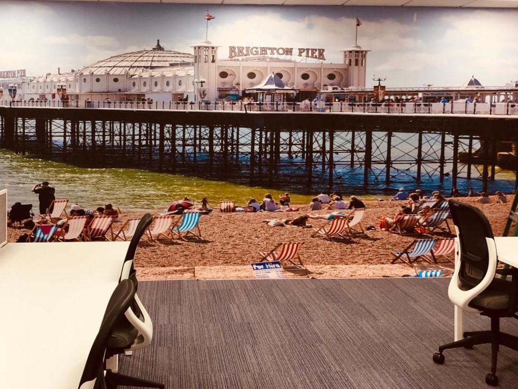 Brighton Graphic Wall