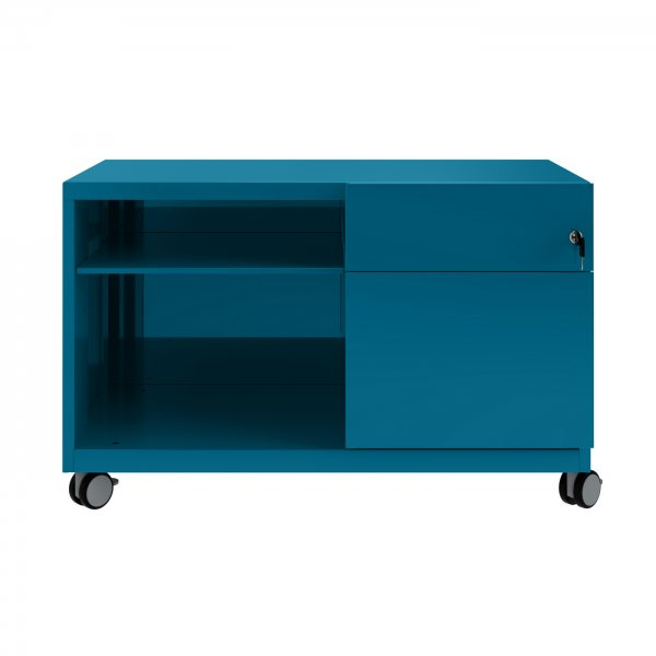 Azure Blue Bisley Mobile Storage Unit