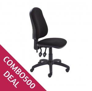 Splash Chair Black