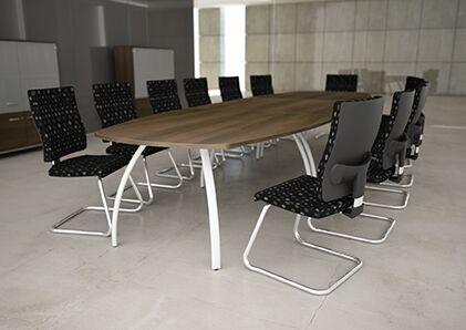 D3K-Board-Room-Table-Silver-Legs-Dark-Top