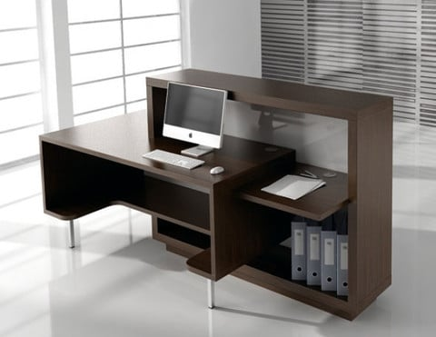 Foro-Modern-Chestnut-Reception-Desk-Back