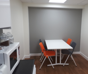 OPtimax Cardiff Staff Room