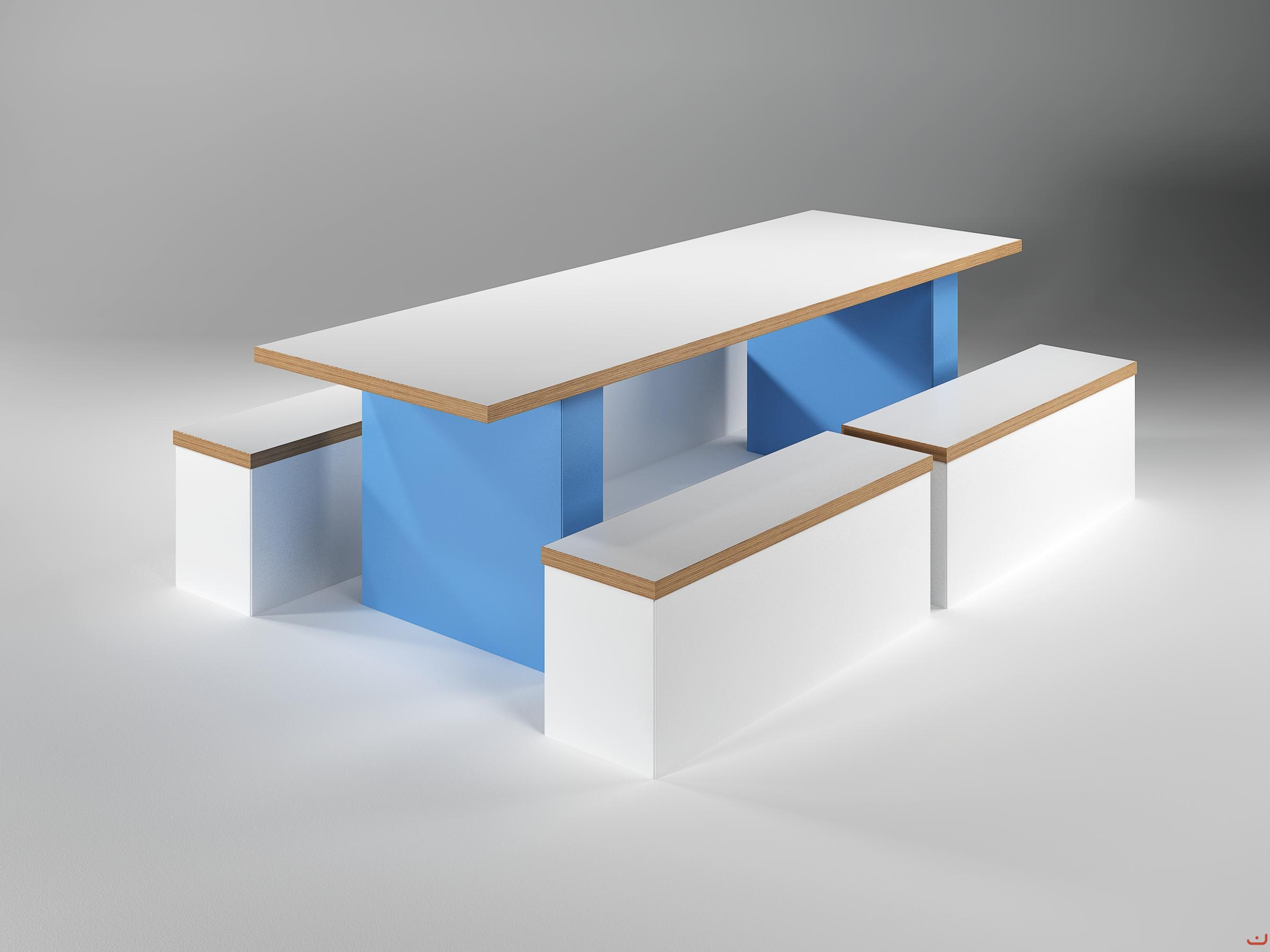 Jive-Canteen-Furniture-Inset-Panel-End-Blue