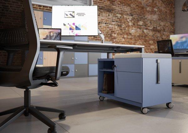 Bisley Mobile Storgae Caddy Under Desk