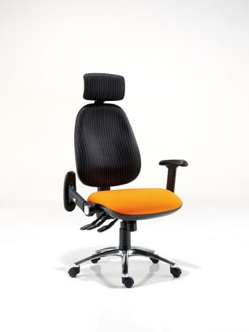 Platinum-Plus-Task-Chair-Yellow-Black
