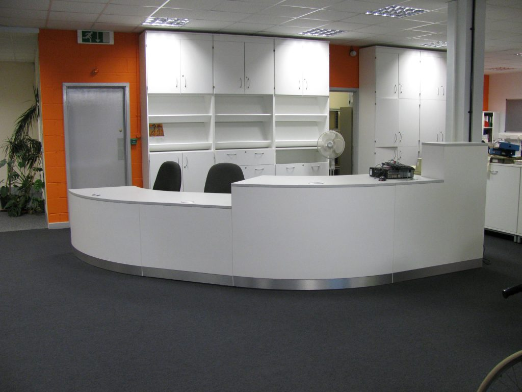 Bespoke-Library-Reception-Desk