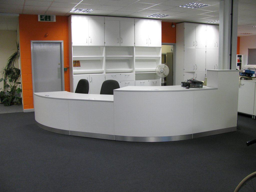 Bespoke-Library-Reception-Desk