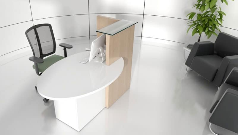 Ovo-Light-Finish-Small-Modern-Reception-Counter