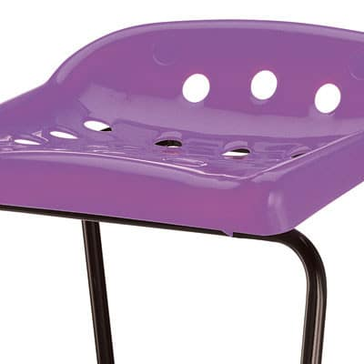 Pepperpot-Purple-Classroom-Stool-Seat-Close-Up