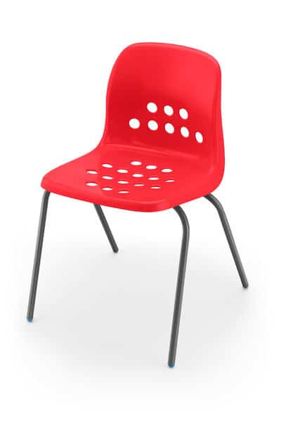 Pepperpot-Plastic-Classroom-Chair-Red