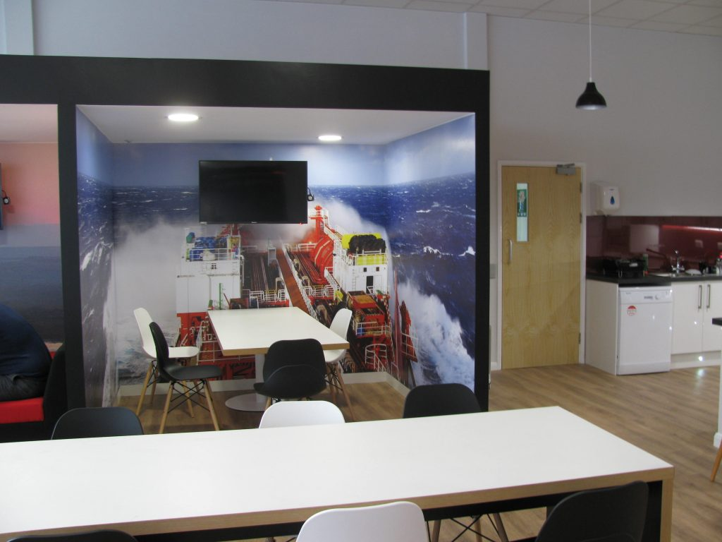 Staff-Room-Seating-Area-with-Custom-Imagery