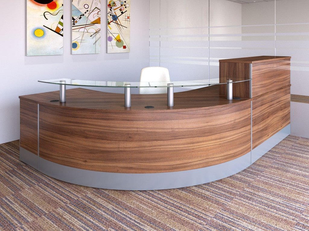 X-Range-Natural-Walnut-MFC-Reception-Desk