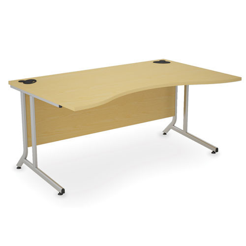 X10 Cantilever Frame Wave Top Desk