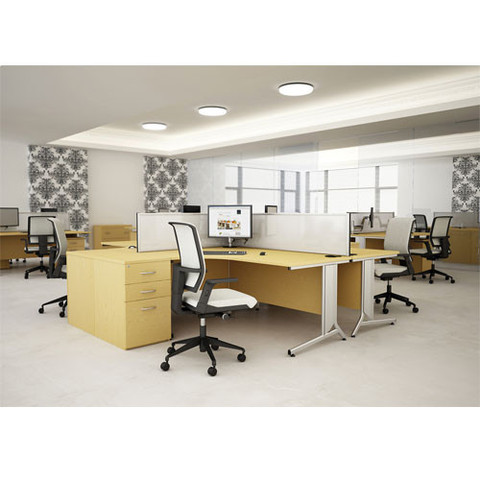 Open-Plan-Office-With-X10-Cantilever-Frame-Desks