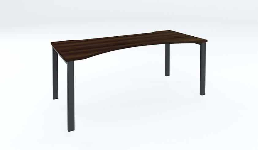 Mesa-Bench-Desks-Double-Wave-Top-Office-Desk-with-Scallop-Edge-In-Dark-Walnut